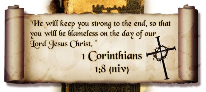 1 Cor 1:8